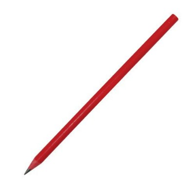 Picture of RECYCLED PENCIL in Red