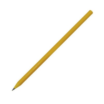 Picture of RECYCLED PENCIL in Yellow