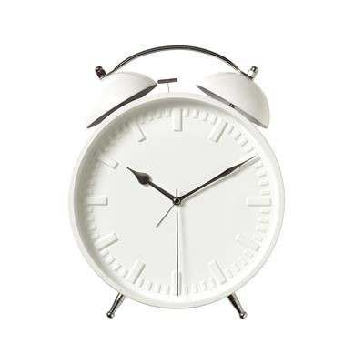 Picture of RING RING WALL CLOCK in White