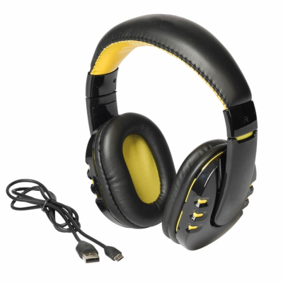Picture of RACER BLUETOOTH HEADPHONES in Yellow