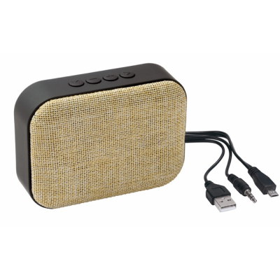 Picture of MESHES BLUETOOTH SPEAKER in Beige