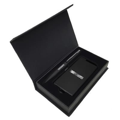 Picture of TYRE POWER BANK SOFT TOUCH BOX SET