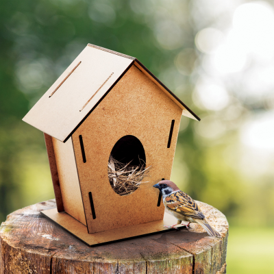 Picture of TOMTIT WOOD BIRD HOUSE