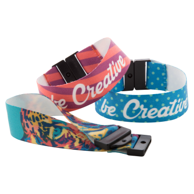 Picture of MOJO CUSTOM MADE POLYESTER BRACELET with Plastic Buckle