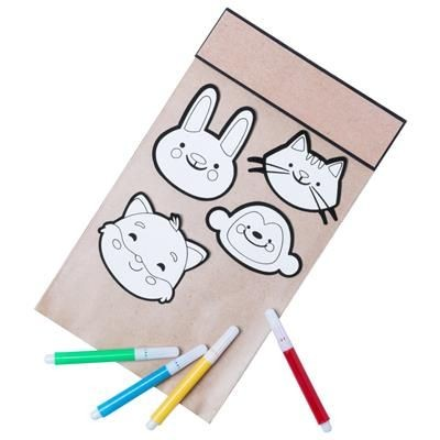 Picture of COLOURING STICKER SET VARNILS
