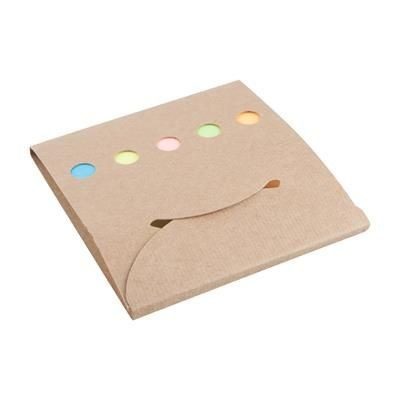 Picture of COVET ADHESIVE NOTE PAD with 20 Big & 100 Small Notes in 5 Different Colours