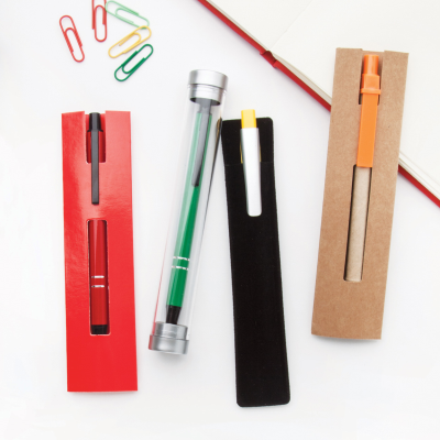 Picture of RECYCARD PEN POUCH in Beige
