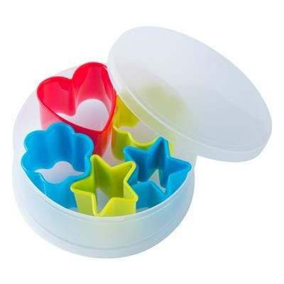 Picture of KENZZO 5 PIECE PLASTIC COOKIE CUTTER SET