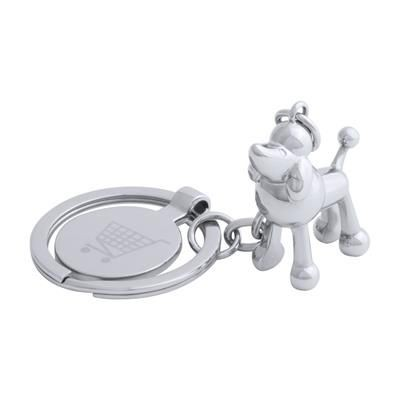 Picture of HOINZO METAL TROLLEY COIN KEYRING with Animal Figure