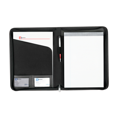 Picture of DOCUMENT FOLDER DURHAM in Black