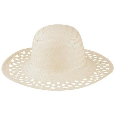 Picture of YUCA STRAW HAT FOR LADIES WITHOUT BAND