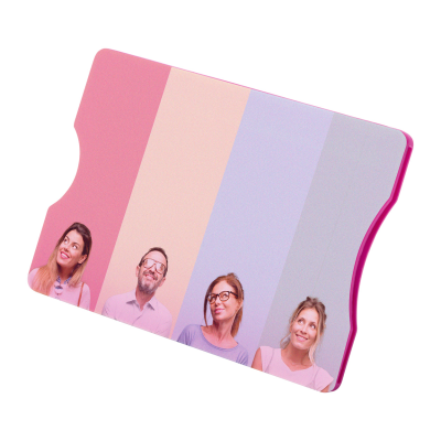 Picture of RANDY RFID BLOCKING PLASTIC CREDIT CARD HOLDER with 1 Compartment