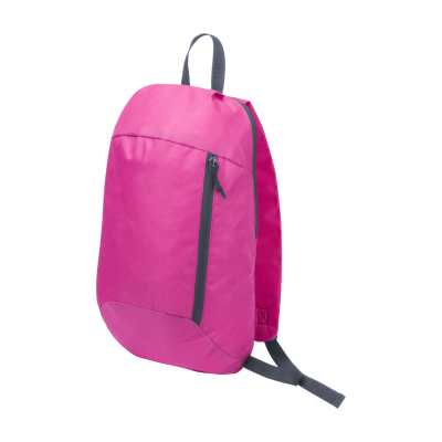 Picture of DECATH 600D POLYESTER BACKPACK RUCKSACK with Padded Back Adjustable Shoulder Straps & Zip Front Pock
