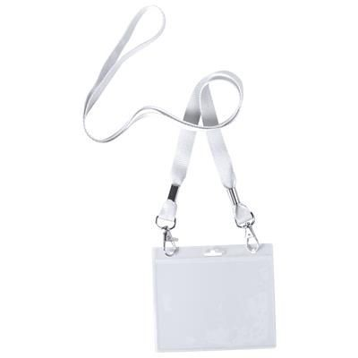 Picture of CAIL POLYESTER LANYARD with Metal Carabiners & PVC Badge Holder