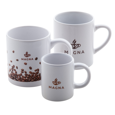 Picture of DAIMY WHITE CREAMIC MUG in Gift Box