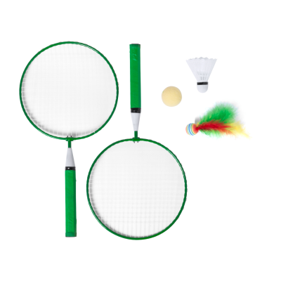 Picture of DYLAM BADMINTON SET with 2 Rackets & 3 Kinds of Balls