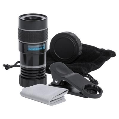 Picture of YORAP SMARTPHONE TELEPHOTO LENS with Universal Clip & Cleaner Cloth in Carry Pouch