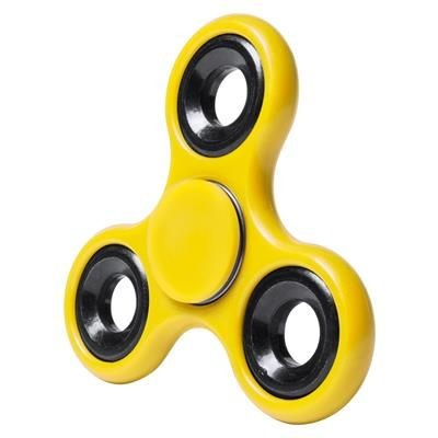 Picture of ZAIREM PLASTIC AND METAL 3 PRONGED FIDGET SPINNER with Steel Ball Bearings
