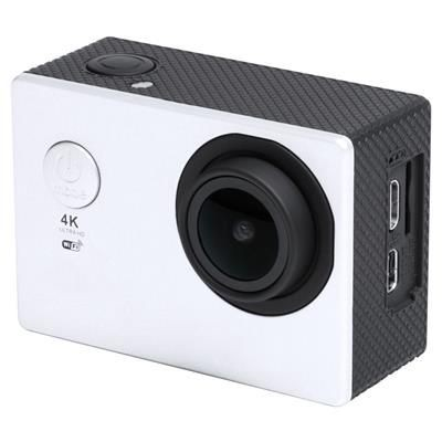 Picture of GARRIX PLASTIC 4K ACTION CAMERA with Wifi 2 LCD Screen Multilingual Menu Built-in Rechargeable Batte
