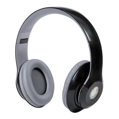 Picture of LEGOLAX FOLDING PLASTIC BLUETOOTH HEADPHONES with Built-in Rechargeable Battery
