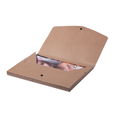 Picture of DAMANY RECYCLED PAPER DOCUMENT FOLDER with Press-stud