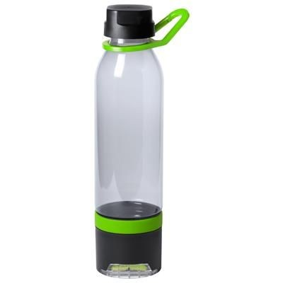 Picture of DOLTIN PLASTIC MULTIFUNCTION SPORTS BOTTLE with Cooling Towel 390 G-m² in the Bottom Compartment & P