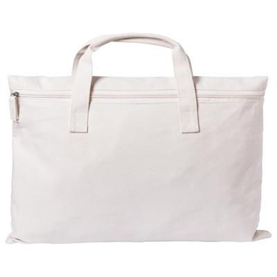 Picture of KARMUL DOCUMENT BAG with Zip Main Compartment 50% Cotton - 50% Polyester