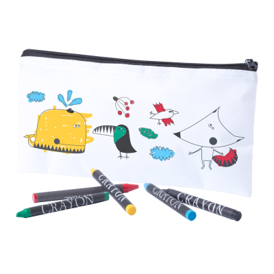 Picture of COLOURING PEN CASE SKINGA