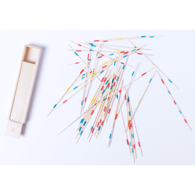 Picture of WODDEN MIKADO GAME in Wood Box