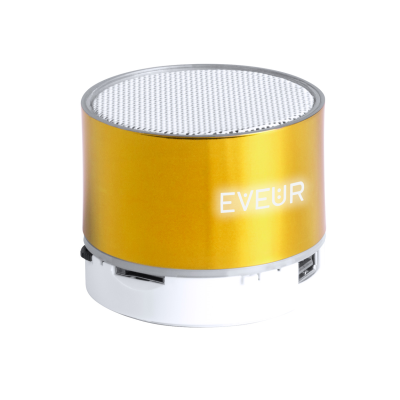 Picture of VIANCOS BLUETOOTH SPEAKER with Plastic Housing Built-in Rechargeable Battery & 1 LED Light Inside th