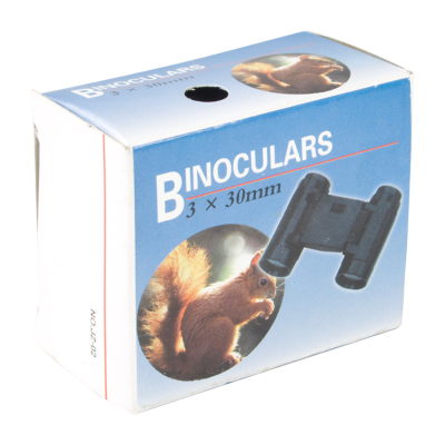 Picture of WANDERER PLASTIC MINI BINOCULARS in Black