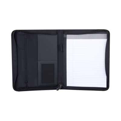 Picture of CENTRAL A5 ZIP DOCUMENT CONFERENCE FOLDER in Black