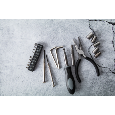 Picture of PITSTOP 22 PC METAL TOOL SET in Plastic Carry Case