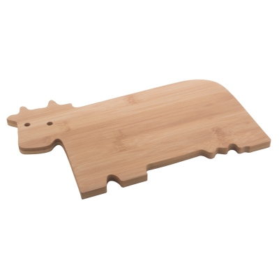 Picture of BUBULA COW SHAPE BAMBOO CUTTING BOARD