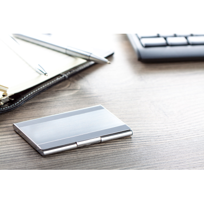 Picture of LINER BUSINESS CARD POCKET HOLDER in Silver