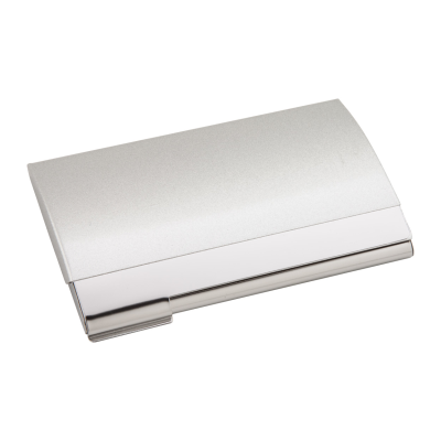 Picture of DOME BUSINESS CARD POCKET HOLDER in Silver
