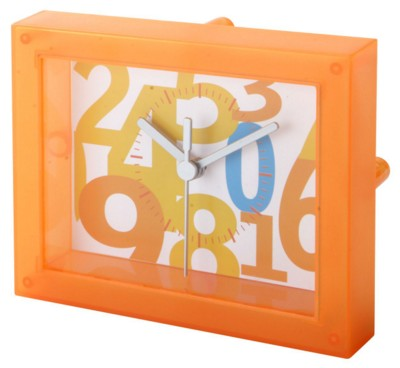 Picture of TIMESTANT CLEAR TRANSPARENT TABLE CLOCK
