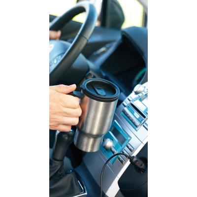 Picture of CABOT THERMAL INSULATED TRAVEL MUG in Silver