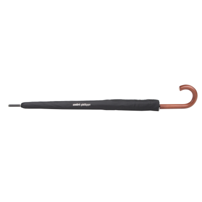 Picture of TONNERRE AUTOMATIC WINDPROOF UMBRELLA with 8 Panels Wood Handle Metal Shaft & Fiberglass Ribs