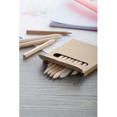 Picture of LEA CHILDRENS WOOD COLOURING PENCIL SET