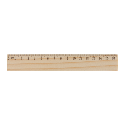 Picture of ONESIX 16CM WOOD RULER