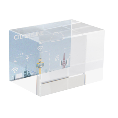 Picture of MACON GLASS CUBE BLOCK FOR 3D LASER ENGRAVING