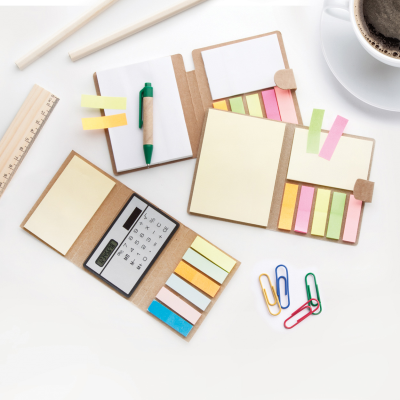 Picture of SIZES STICKY NOTE PAD