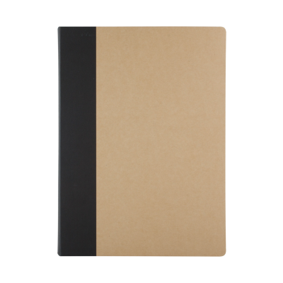 Picture of GREENWICH RECYCLED PAPER NOTE BOOK in Natural & Black