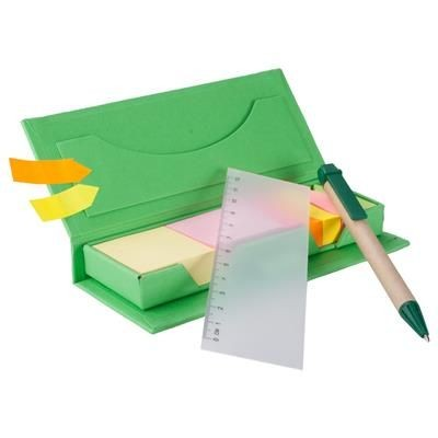 Picture of GALE NOTE PAD in Green
