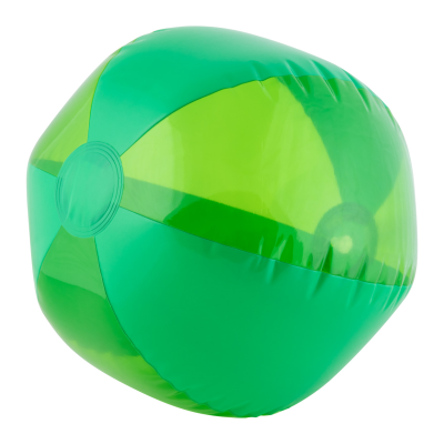 6 PANELS PVC BEACH BALL with Clear Transparent Translucent & Solid Panels