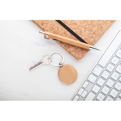 Picture of ORBIS WOOD KEYRING