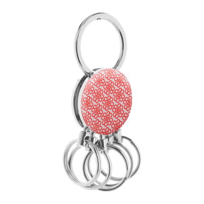 Picture of CINCO METAL ROUND SHAPE KEYRING with 5 Detachable Rings