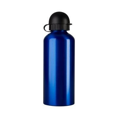 Picture of ALUMINIUM METAL SPORTS BOTTLE with Plastic Drink Lid 500 Ml