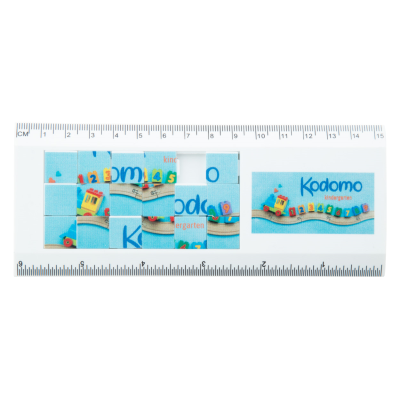 Picture of SLIDY 15CM PLASTIC RULER with Puzzle